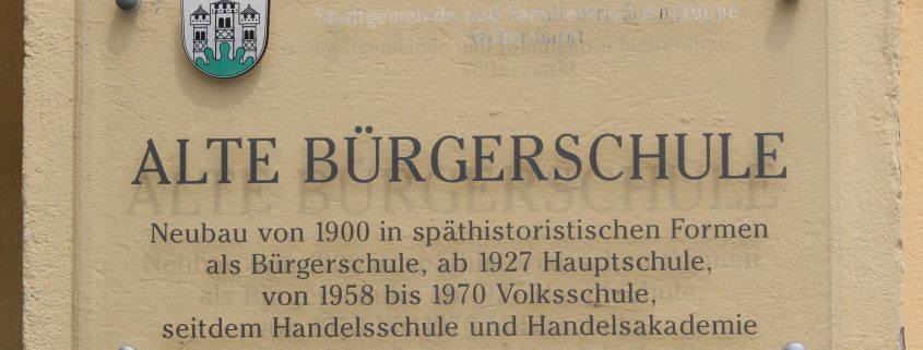 Bürgerschule_Schild