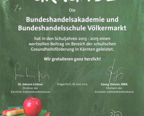 Schulische Gesundheitsförderung_2013-15