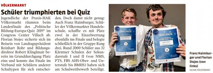 20190409_Kleine_Zeitung_Politische_Bildung