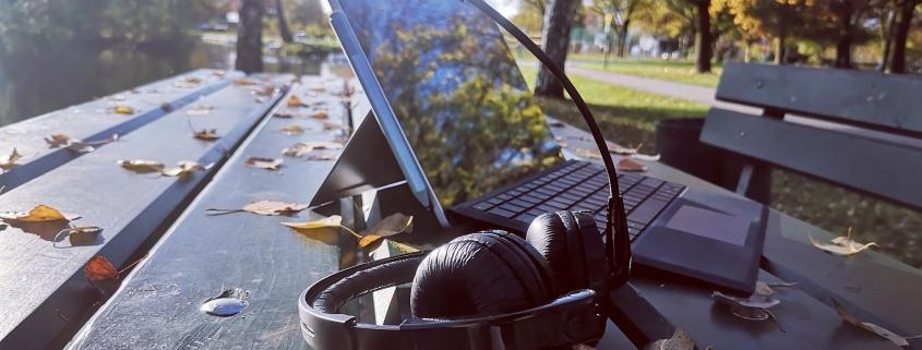 Laptop Herbst