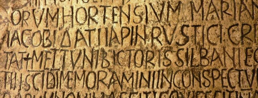 Latein_Inschrift